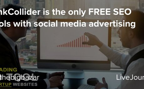 LinkCollider is the only FREE SEO tools with social media advertising