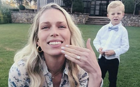 Shane Co. on Erin Foster's Engagement Ring