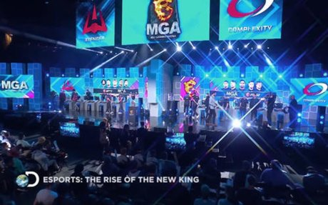 Discovery network breaks into gaming with Esports: The Rise of the New King