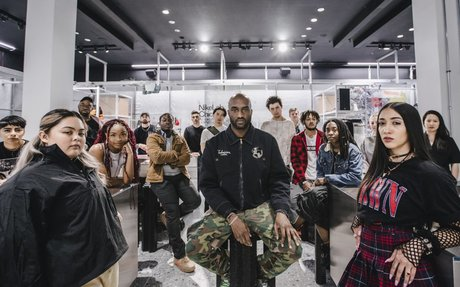 RETAIL // Virgil Abloh's New Nike Store is a Peek at the Future of Retail