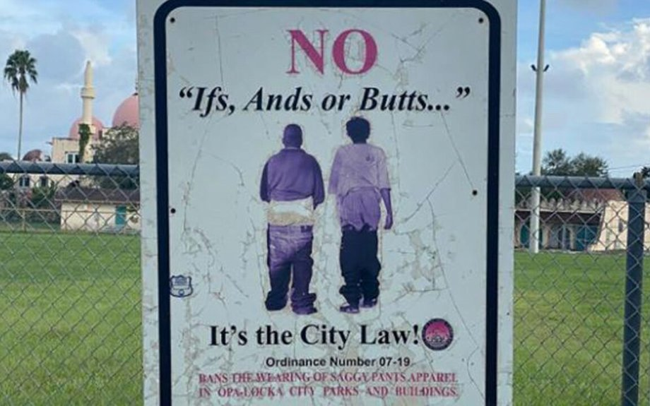 Florida city repeals 'saggy pants' law critics claimed unfairly targeted African Americans