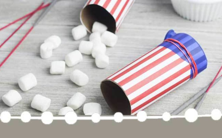 DIY Marshmallow Shooters and Fun 4th of July Games