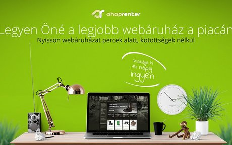 Webáruház bérlés - ShopRenter - Facebook Webáruház