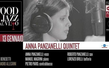 Anna Panzanelli Quintet - Jazz dinner at FJDV