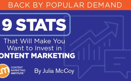 9 Stats That Will Make You Want to Invest in Content Marketing