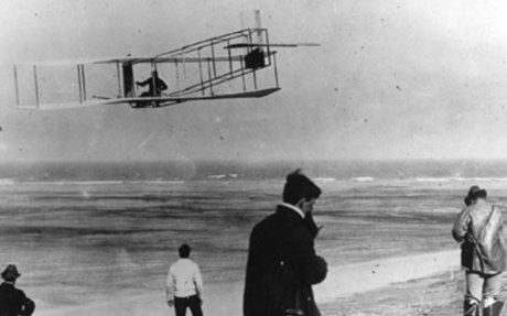 The Wright Brothers Succeed In Manned Flight