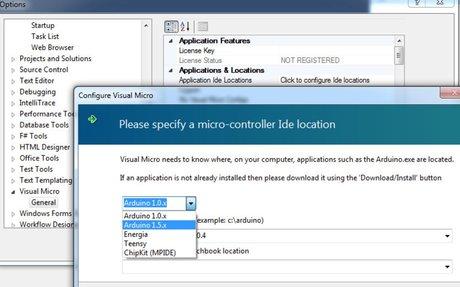 Flexible Micro Applications (multi-IDE)