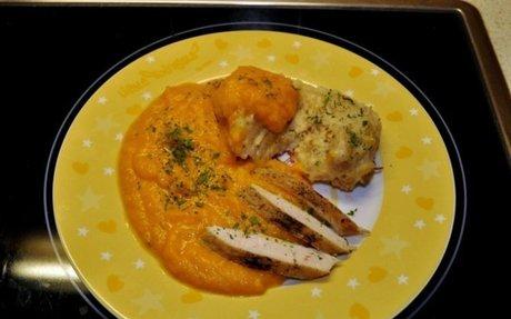 Vadas-csirke zsemlegombóccal | NOSALTY