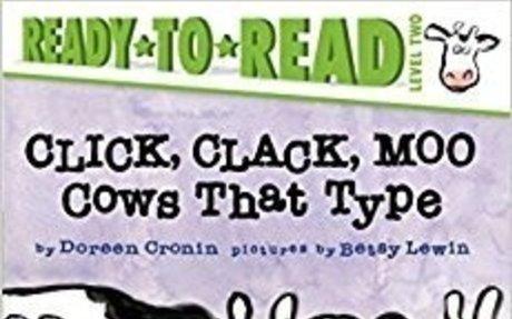 Amazon.com: Click, Clack, Moo: Cows That Type (A Click, Clack Book) (9781481465403): Doree