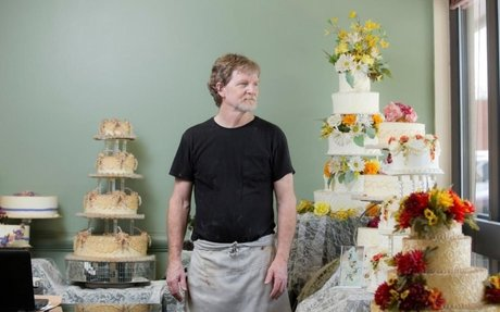 Supreme Court sides with Colorado baker who refused to make wedding cake for same-sex coup