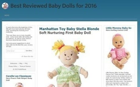 Best Baby Dolls 2016 - Kid-Mash 2016