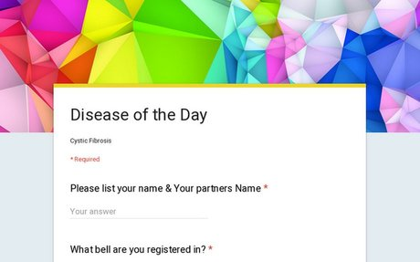 Disease of the Day Research