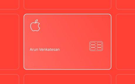 DESIGN // The Design of Apple's Credit Card
