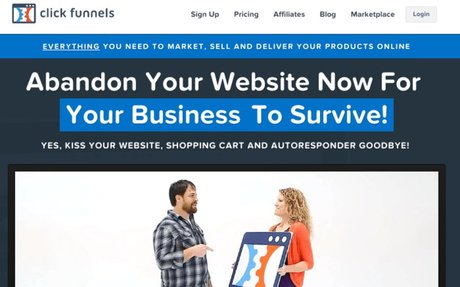 ClickFunnels™ - Marketing Funnels and Landing Pages that Convert