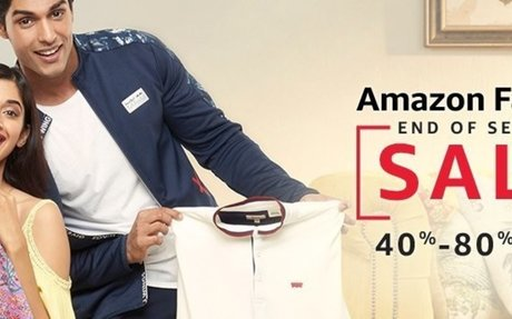Fashion Sale - Great Deals & Discounts on Fashion Products Online in India @ Amazon.in