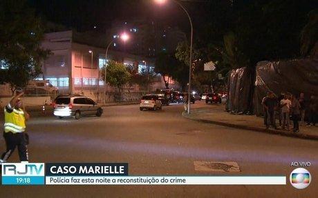 RJ2 | Marcada para esta noita a reconstituição das mortes de Mrielle Franco e Anderson Gom