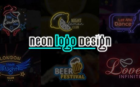 Creating a Custom Neon Logo Design for your Brand - Blog - ProDesigns