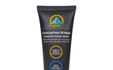 Activated Charcoal Peel Off Mask for Blackheads Removal | elink