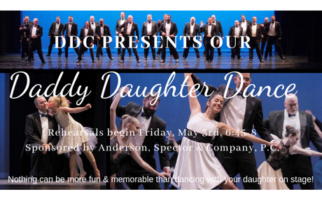 Daddy Daughter Dance 2019 (Starts May 3rd)