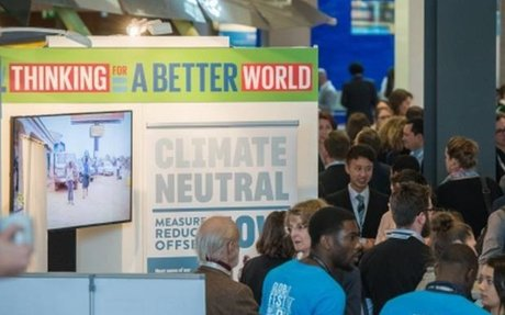 Global Festival of Ideas in Bonn - World's first interactive conference on sustainable dev