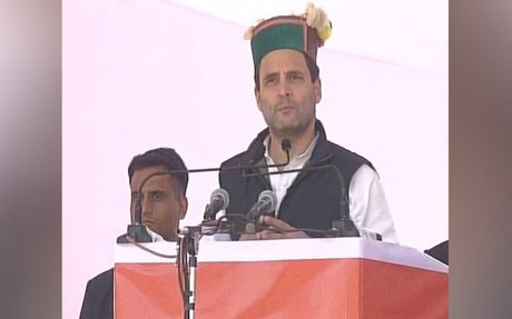 Modiji has divided India into two parts, says Rahul Gandhi in Dharamshala