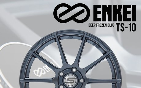 Enkei TS10 Deep Frozen Blue 18x9.5 +35mm - 2015+ WRX / 2015+ STI