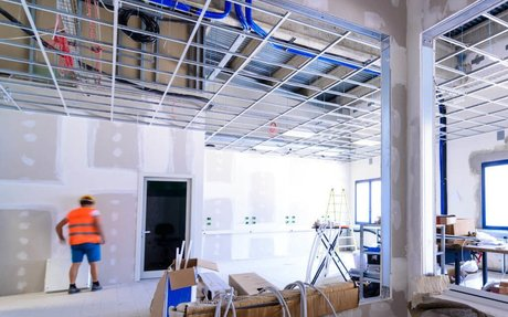 Construction Janitorial Services - Construction Cleaning Up | KohlBM