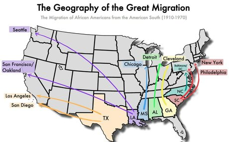 The Great Migration (1915-1960)   The Black Past: Remembered and Reclaimed