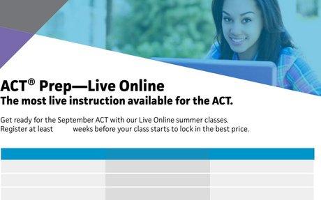 ACTSummer Online with discount.
