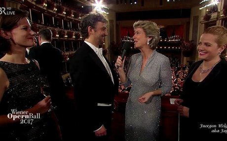 """Jonas Kaufmann & Speranza Scappucci"" Wiener Opernball 2017"