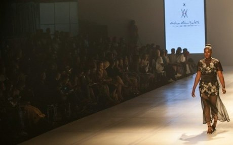 Curves rule the Lagos catwalk
