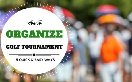 How To Organize A Golf Tournament: 15 Tips For Successful Event - UBERGOLF