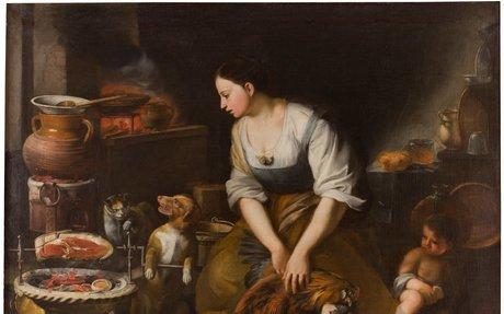 La cocinera - Colección