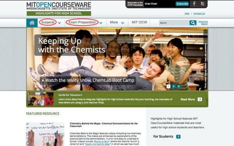For Students | MIT OpenCourseWare | Free Online Course Materials