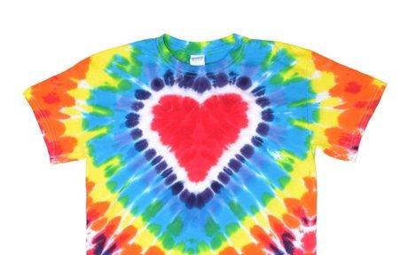 Megusta hacer las camisetas pintadas.