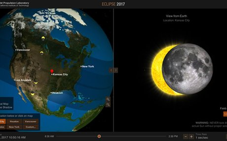 ISS Observations | Total Solar Eclipse 2017