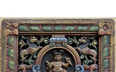 Buy Wooden Krishna Statue Online | Wooden Carvings