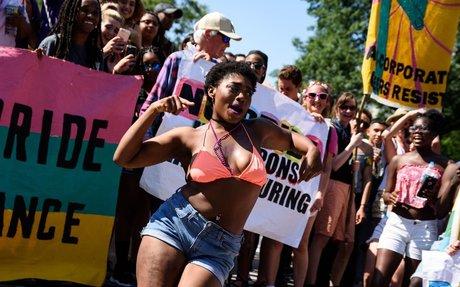 LGBTQ Activists Blockade DC Capital Pride Parade