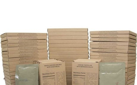 NUTRITION-FOOD-MRE Entree Variety Pack - CASE of 72