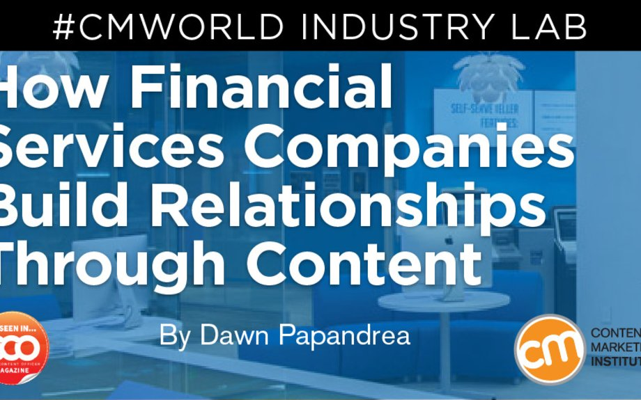 How to Step Up Your Financial Services Content Game