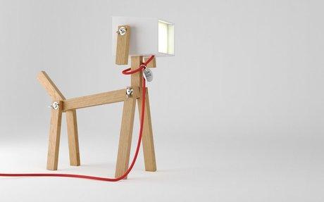 Here is LUMINOSE, my self-created dog lamp!