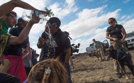 Taibbi on Amy Goodman Arrest for Covering Dakota Pipeline Story