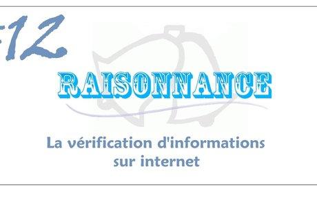 12 - Comment vérifier rapidement une information sur internet (3/3) - Raisonnance