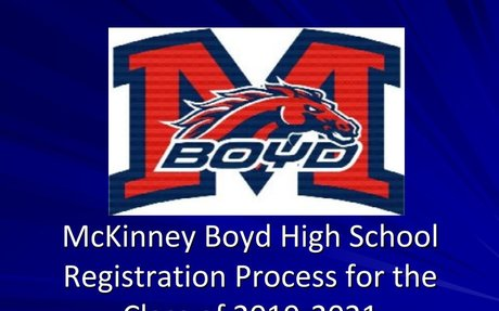 Rising 10th, 11th, and 12th Grade Registration Presentation