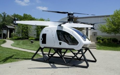 Workhorse Wants To Put Its Hybrid Electric Octocopter In Your Garage By 2019 - HybridCars.