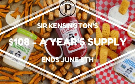 $108 Sir Kensington's Condiments Giveaway