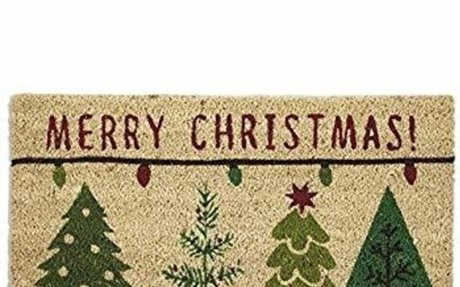 Amazon.com: DII Indoor/Outdoor Natural Coir Easy Clean Rubber Back Entry Way Doormat For P