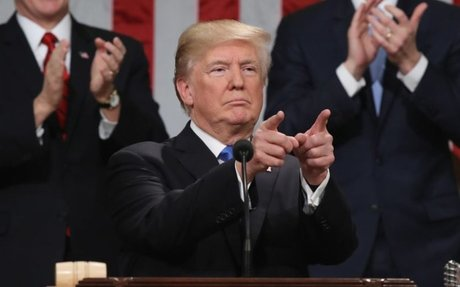 Trump Puts The Focus On 'We' Over 'I' In First SOTU