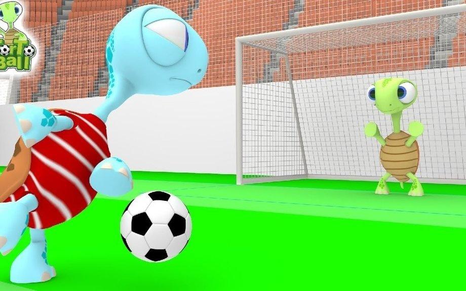 Turtles Creative & Original Skills in Football For Children and Kids | Torto Ball