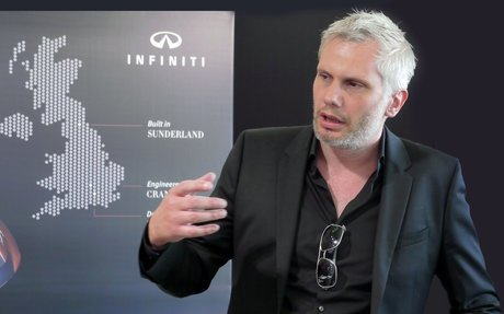 Who's Where: Matt Weaver becomes design director of Infiniti Europe, Middle East and Afric